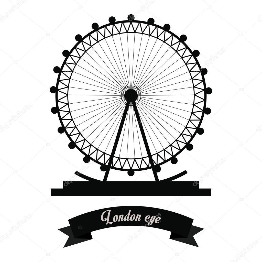 London Eye Dibujo