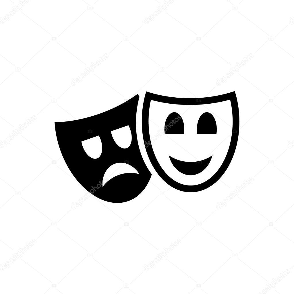 Imagem De Vetor De Teatro De Mascara