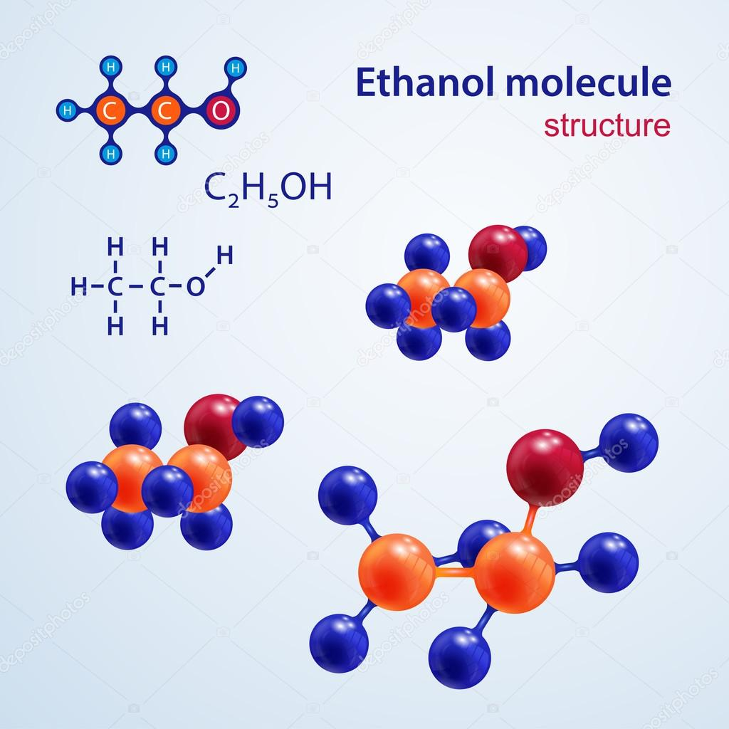 Chemical Makeup Of Ethanol