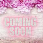 Pink Flowers On Wooden With Word Coming Soon Stock Photo Image By C Sukanda 116532918