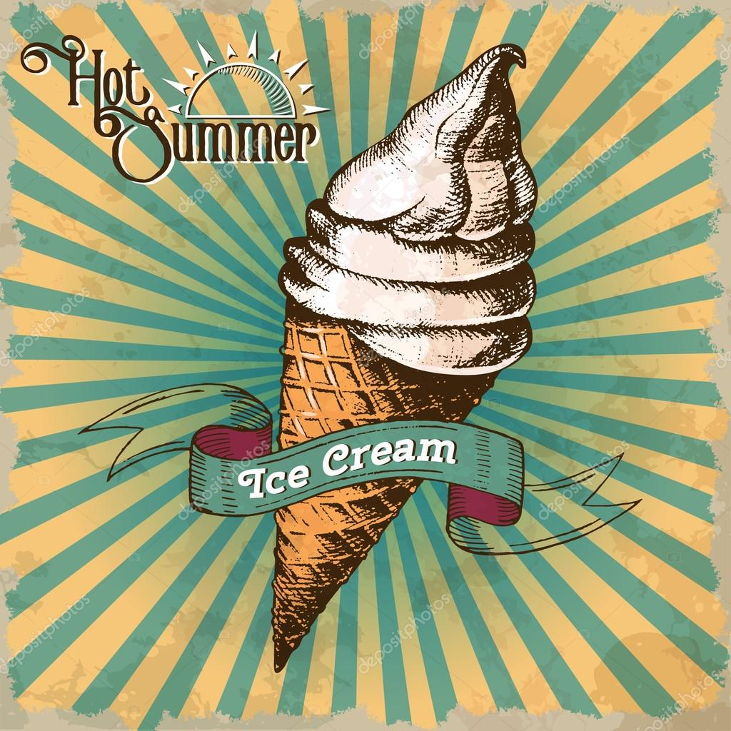 https depositphotos com 114655842 stock illustration ice cream painted in vintage html