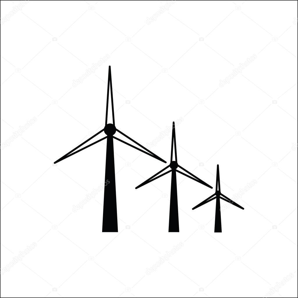 Wind Power Symbol