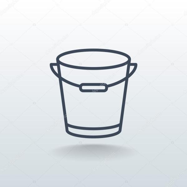 Значок заливки контура — Векторное изображение © Mr ...