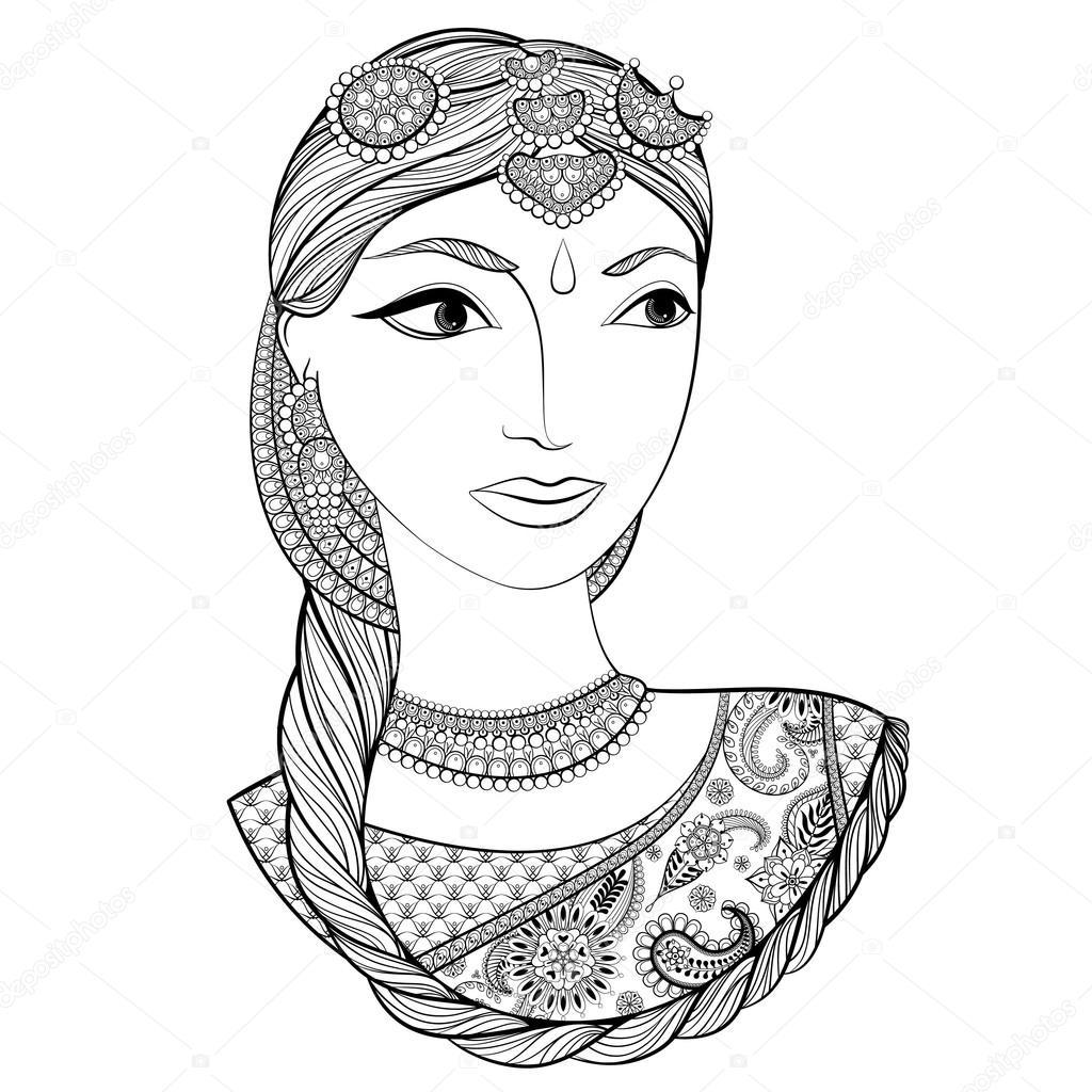 Dibujos Mujeres Indias