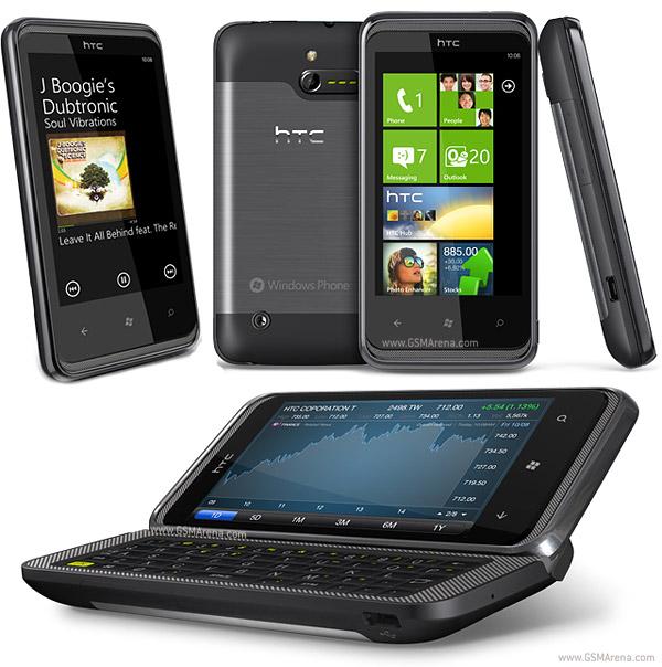 HTC 7 Pro ( (C) GSM Arena)