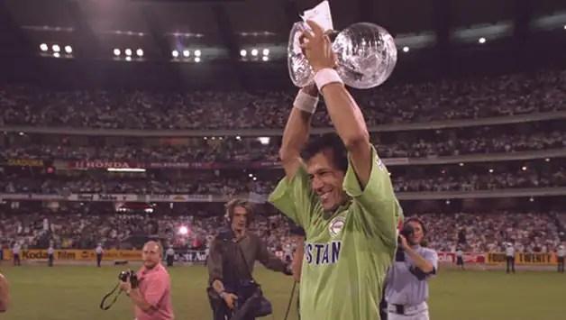 World Cup 1992 Final Imran Khans Pakistan On Top Down