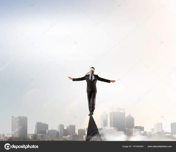 Он рискованный парень. — Стоковое фото © SergeyNivens ...