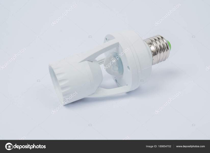 electric lamp with motion sensor     Stock Photo      kiriak09  189854702 Electric lamp with motion sensor     Stock Photo