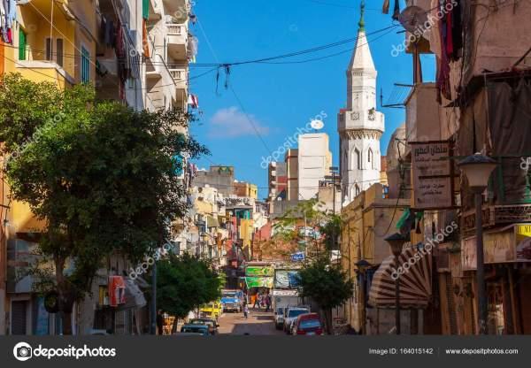 Фото: город александрия египет. Вид из Александрии, Египет ...