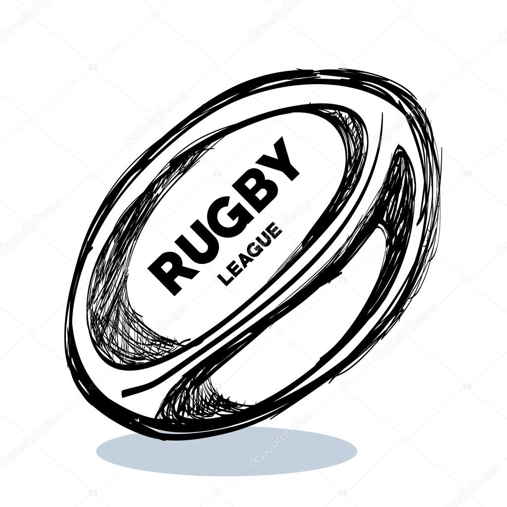 Rugby Drawing