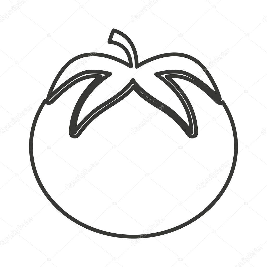 Tomate Silueta