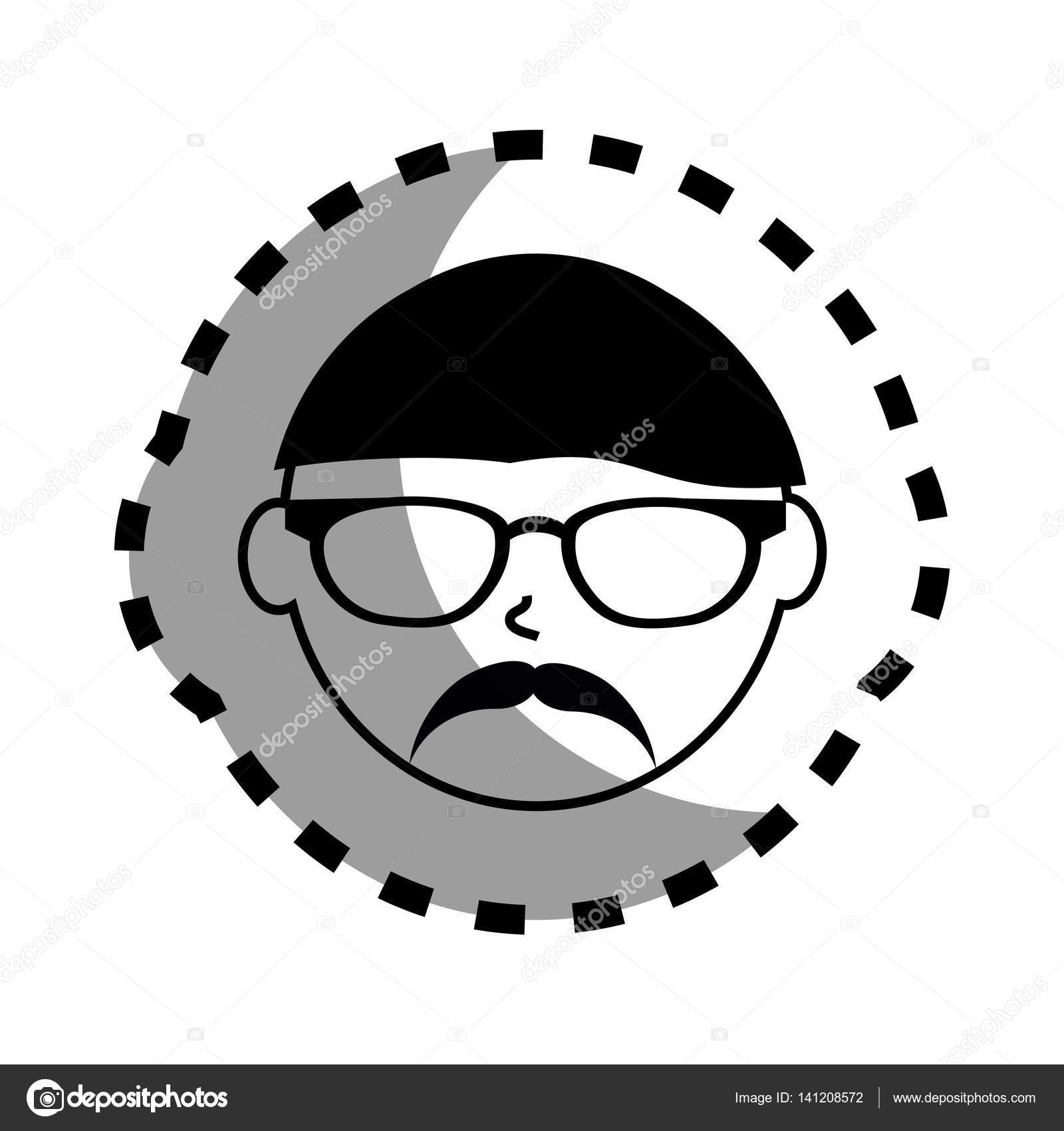 Man Hair Style Sticker Image Of Hair Style