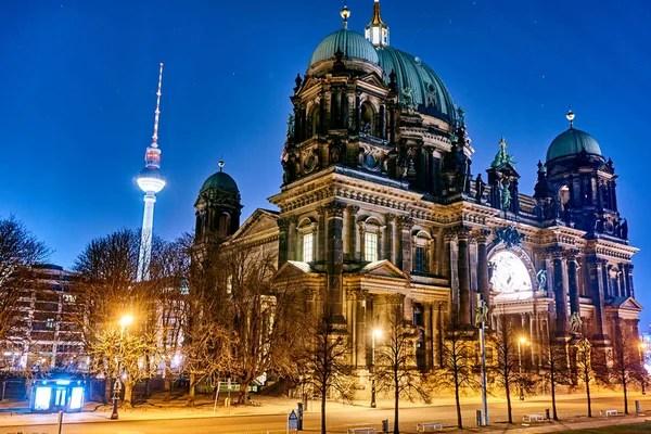 Берлин - Германия - 02 октября. Берлинский собор (Berliner ...