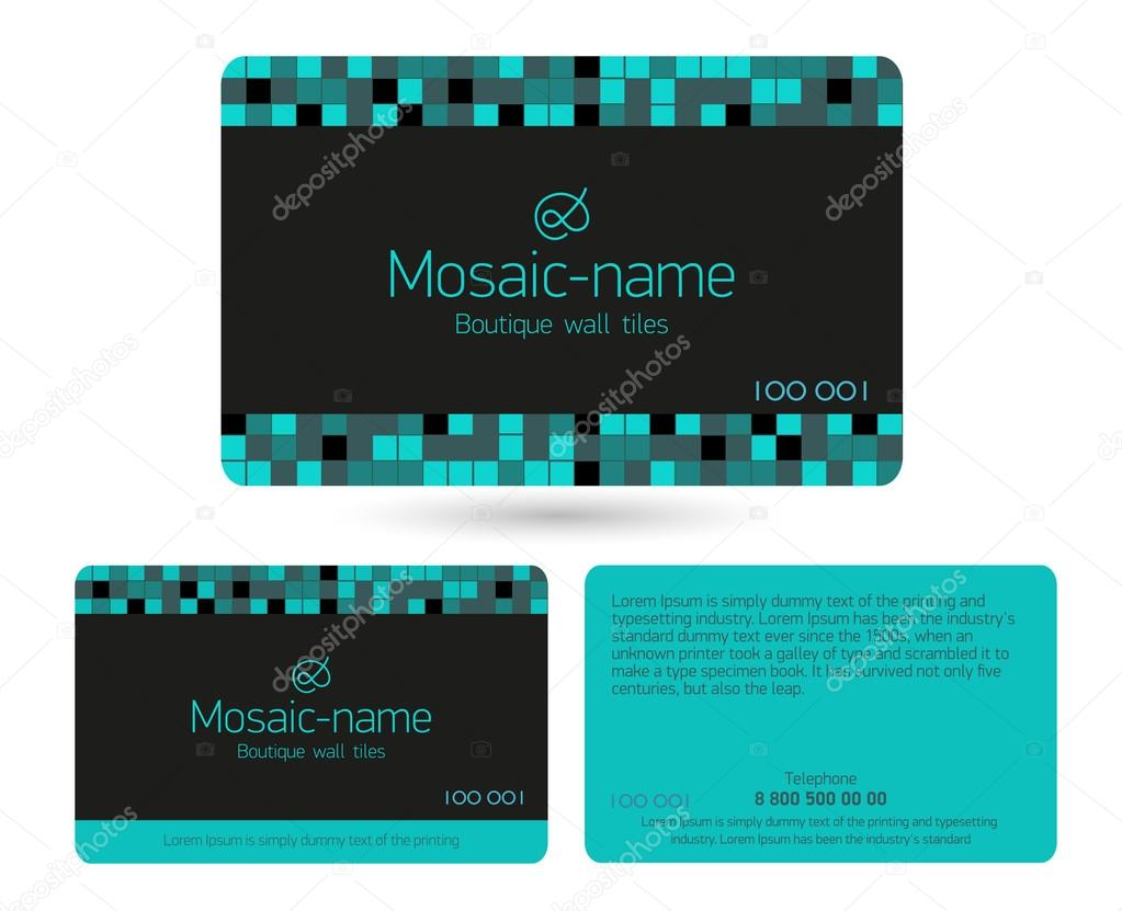 Business Card Size Inches