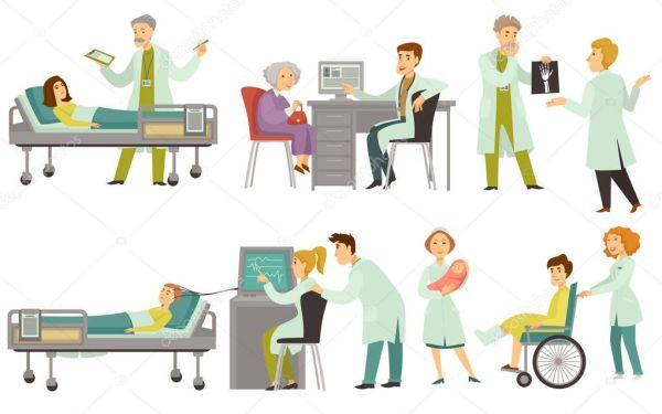 Im225genes viejos enfermos Los M233dicos Examinaran Tratan
