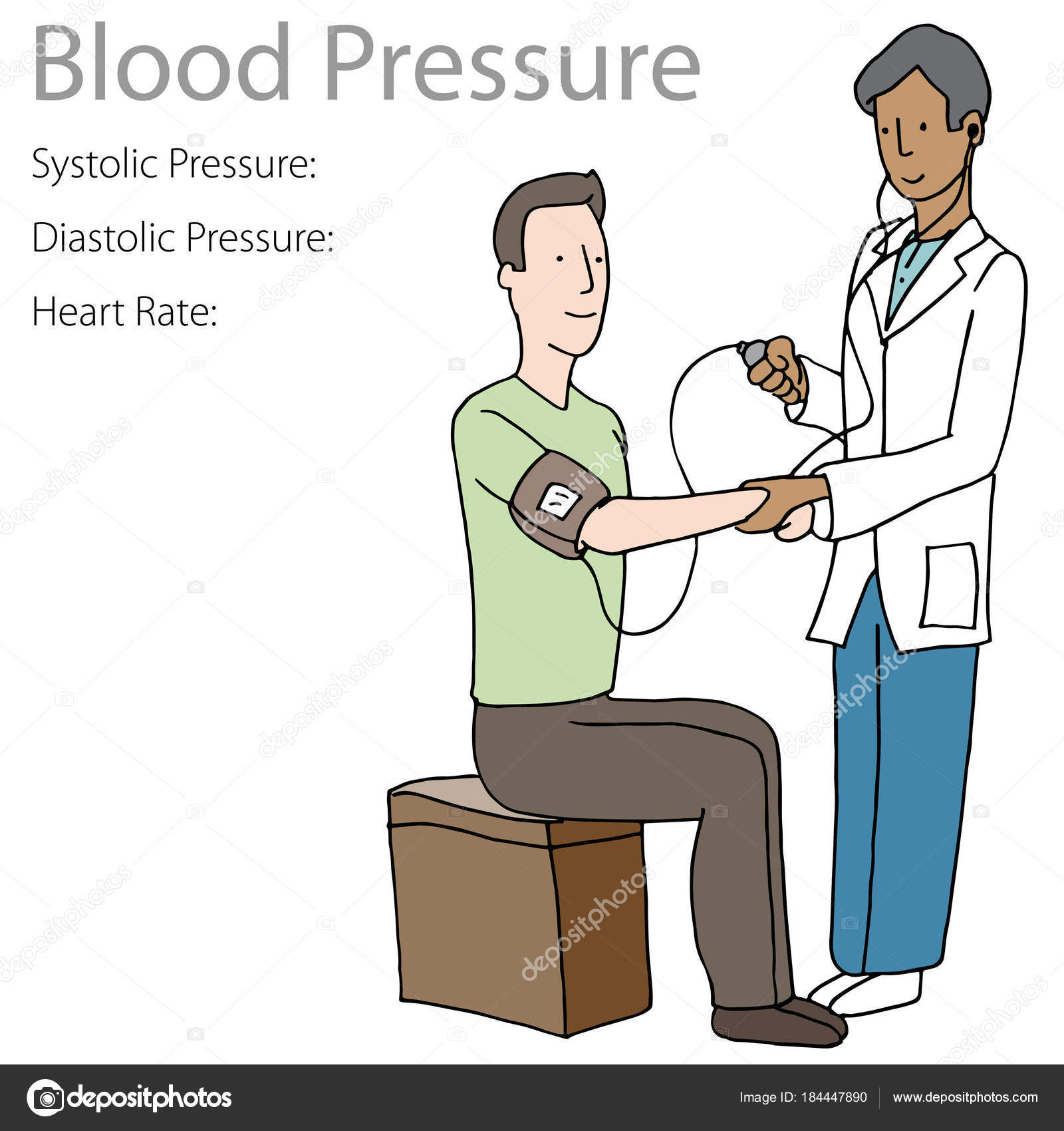 Blood Pressure Reading Worksheet