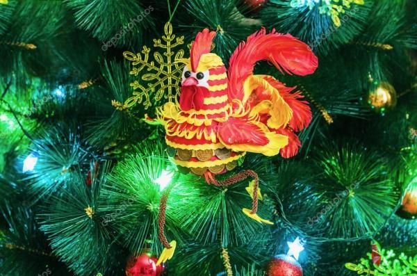 Денежный петух - символ нового 2017 года — Стоковое фото ...