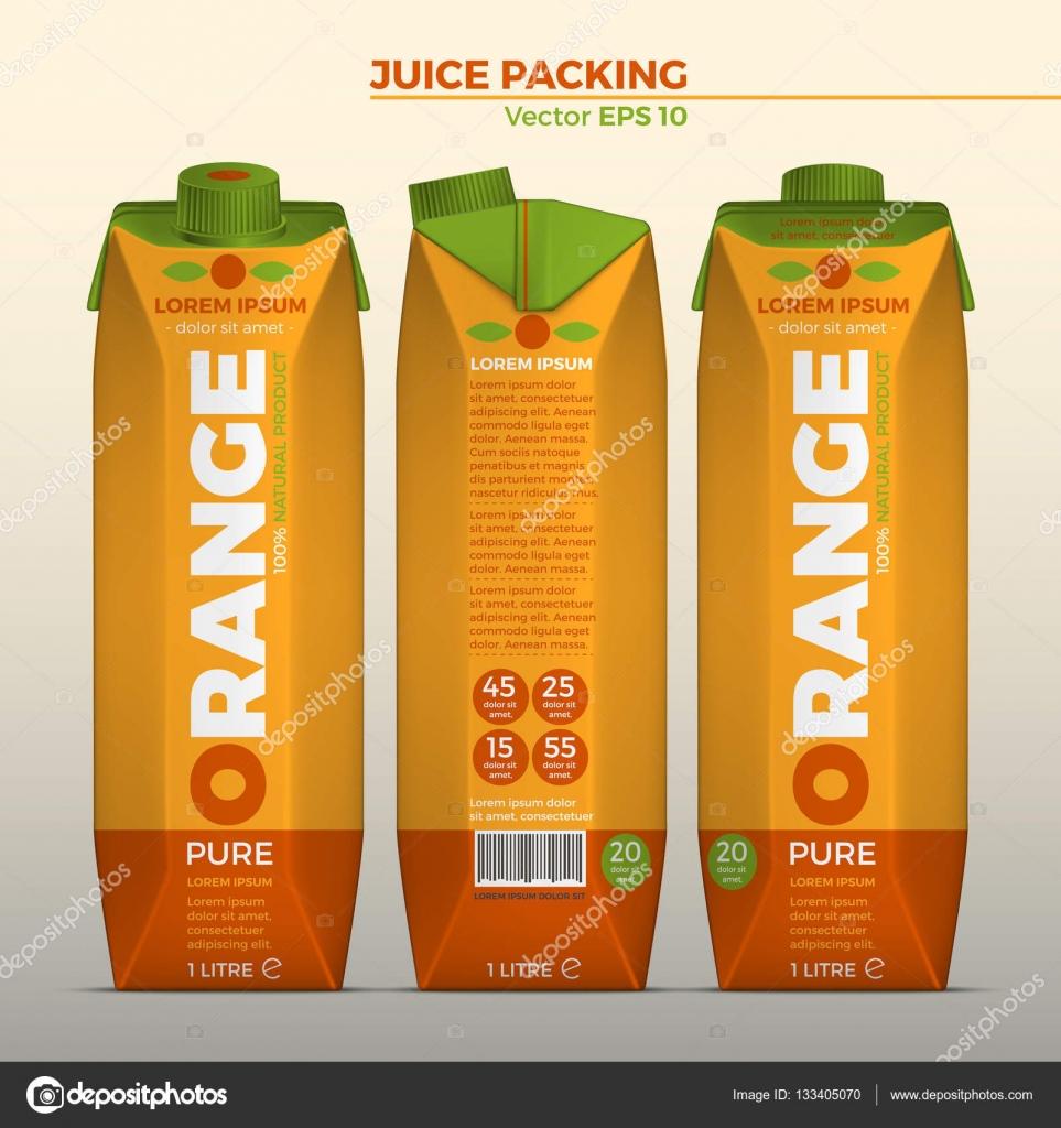 дизайн упаковки сока 7