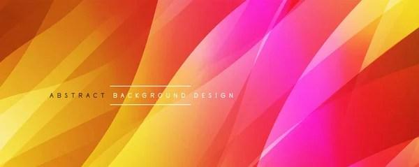 Динамический модный простой цветовой градиент жидкости ...