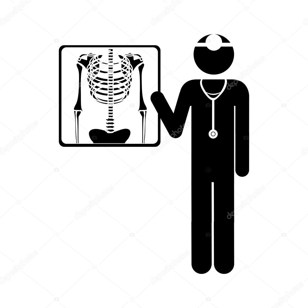 Chest X Ray Icon Image