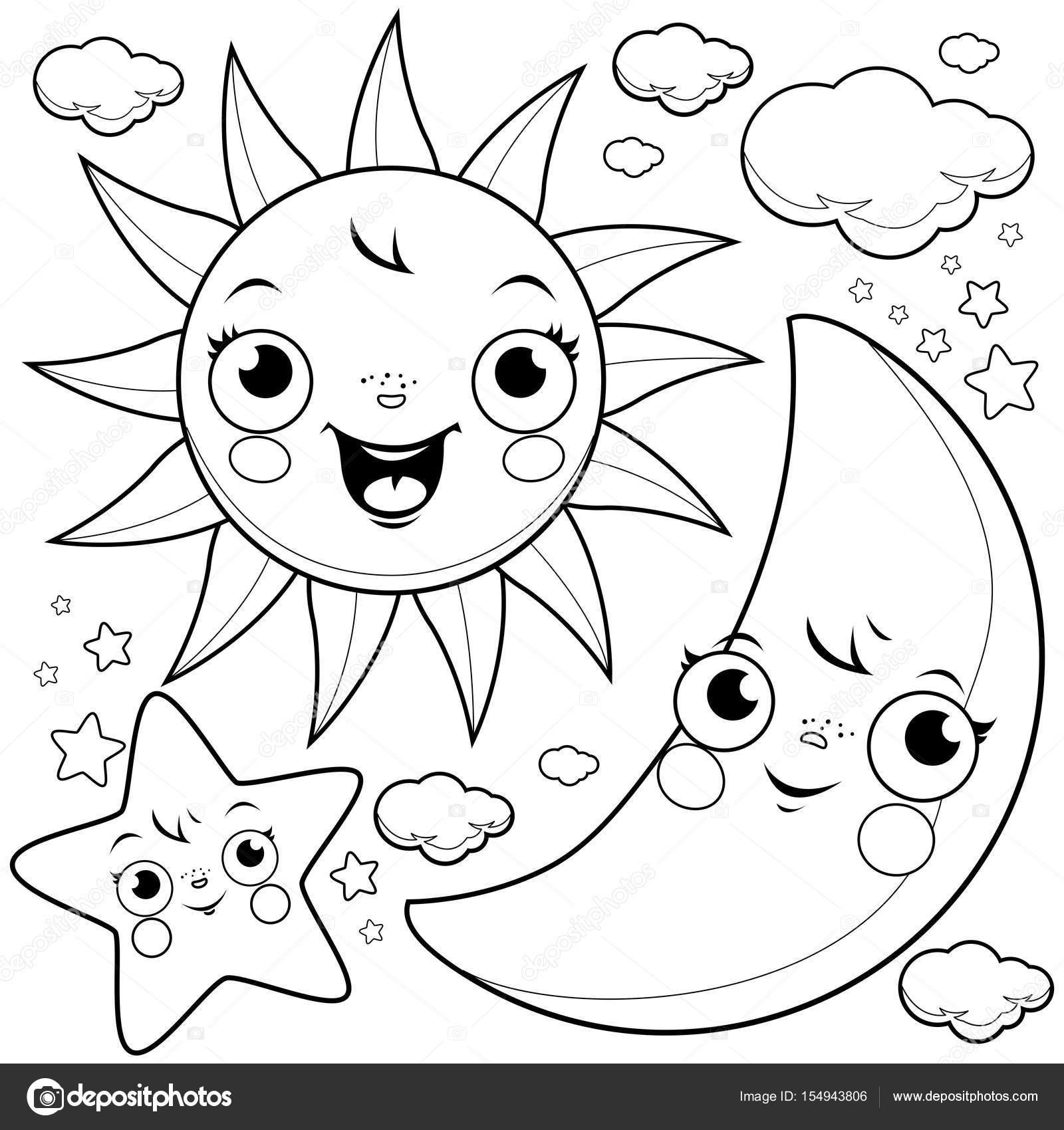 Groartig Malvorlagen Der Sonne Ideen Druckbare