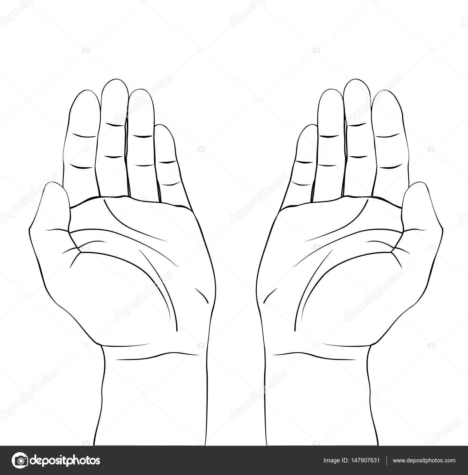 Open Hands Prayer Draw