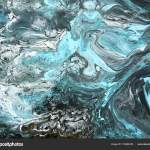 Black And Blue Marble Abstract Hand Painted Background Stock Photo C Artlu 174904876