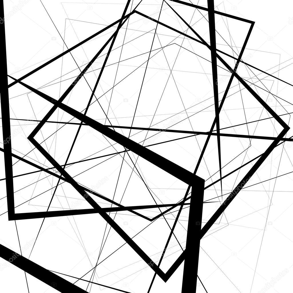 Arriere Plan Des Lignes Geometriques Abstraites