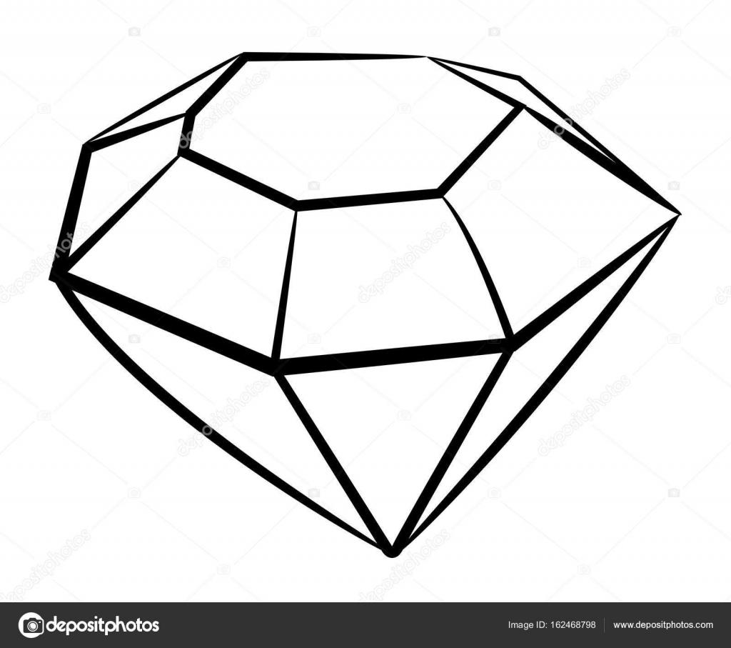 Diamond Cartoon Image