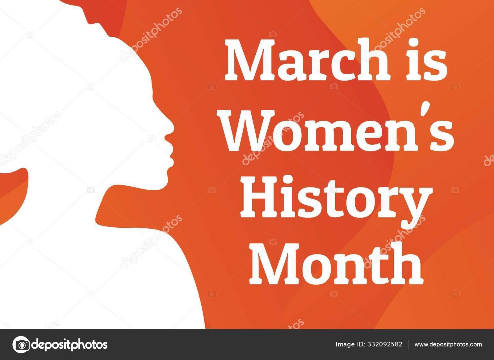 https depositphotos com 332092582 stock illustration concept of womens history month html
