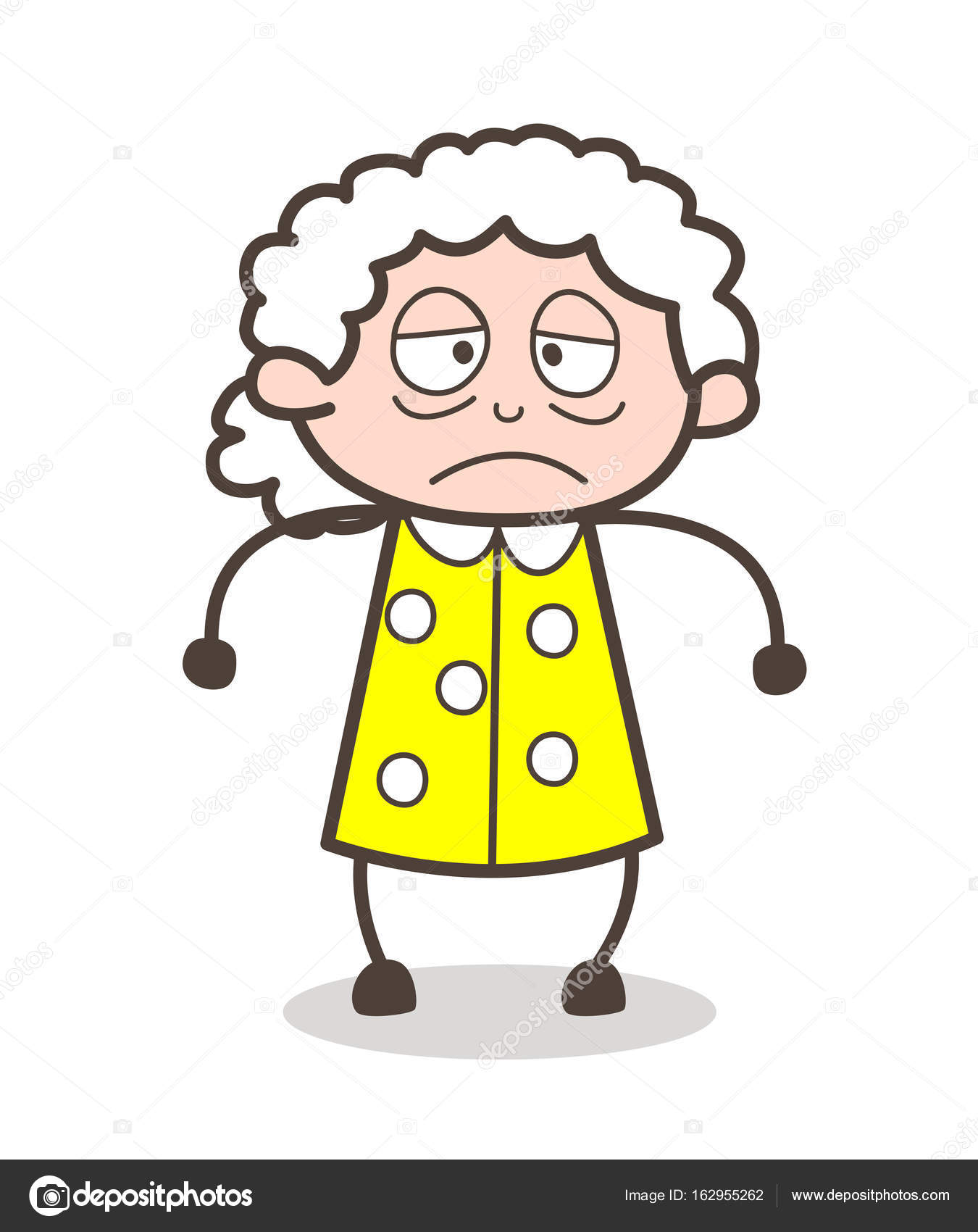 Black And White Clip Art Old Woman