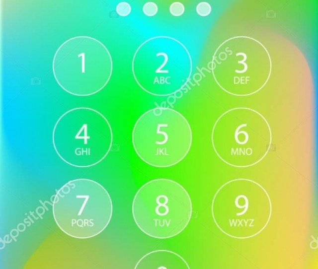 Colorful Security Lock Screen Iphone Wallpaper Iphone The Layers Are Clearly Sorted New