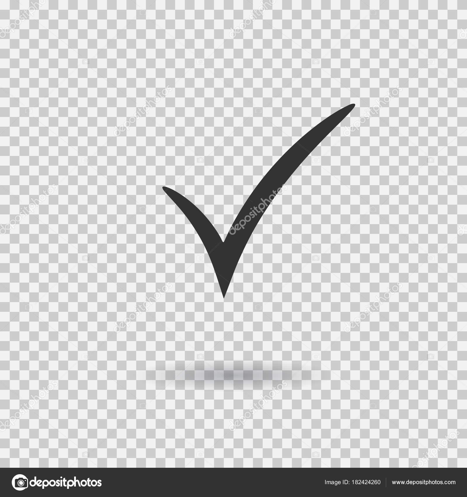 Check mark icon. Vector checkmark button. Tick symbol ... on ✔  id=36521