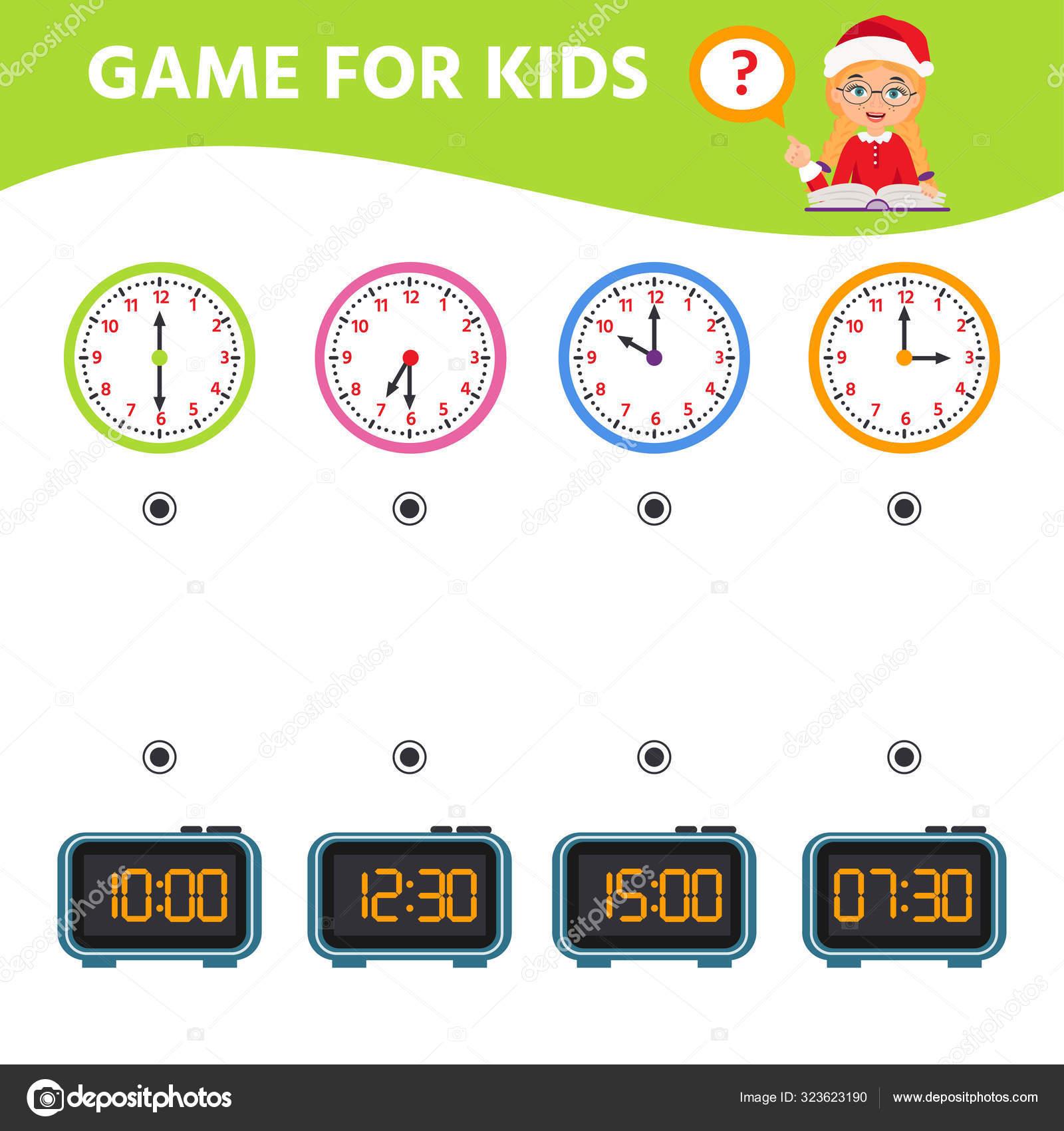 Game For Children Educational Worksheet For Preschool