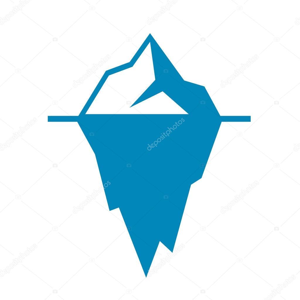 Vector Eisberg Vektor