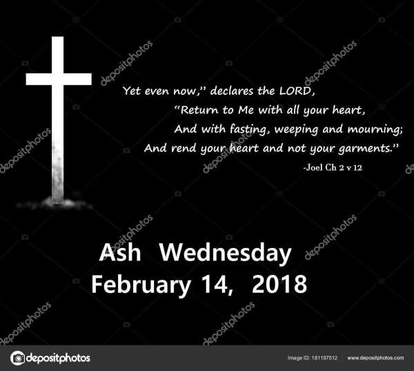 ash wednesday 2018 # 5
