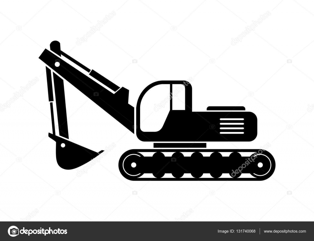 List Of Synonyms And Antonyms Of The Word Excavator Vector