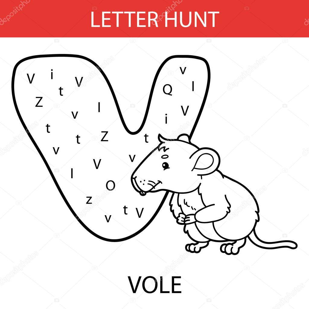 Vector Illustration Printable Kids Alphabet Worksheets