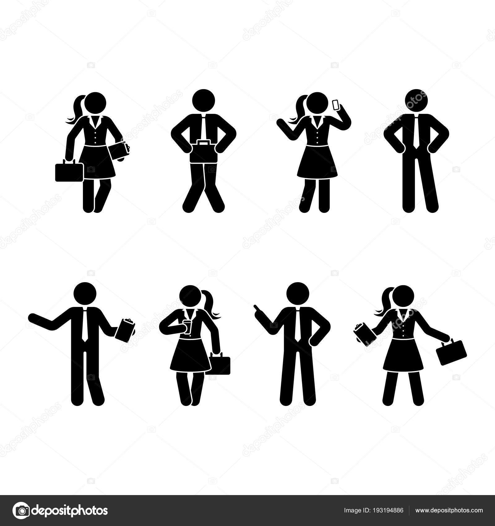 Business Stick Figure