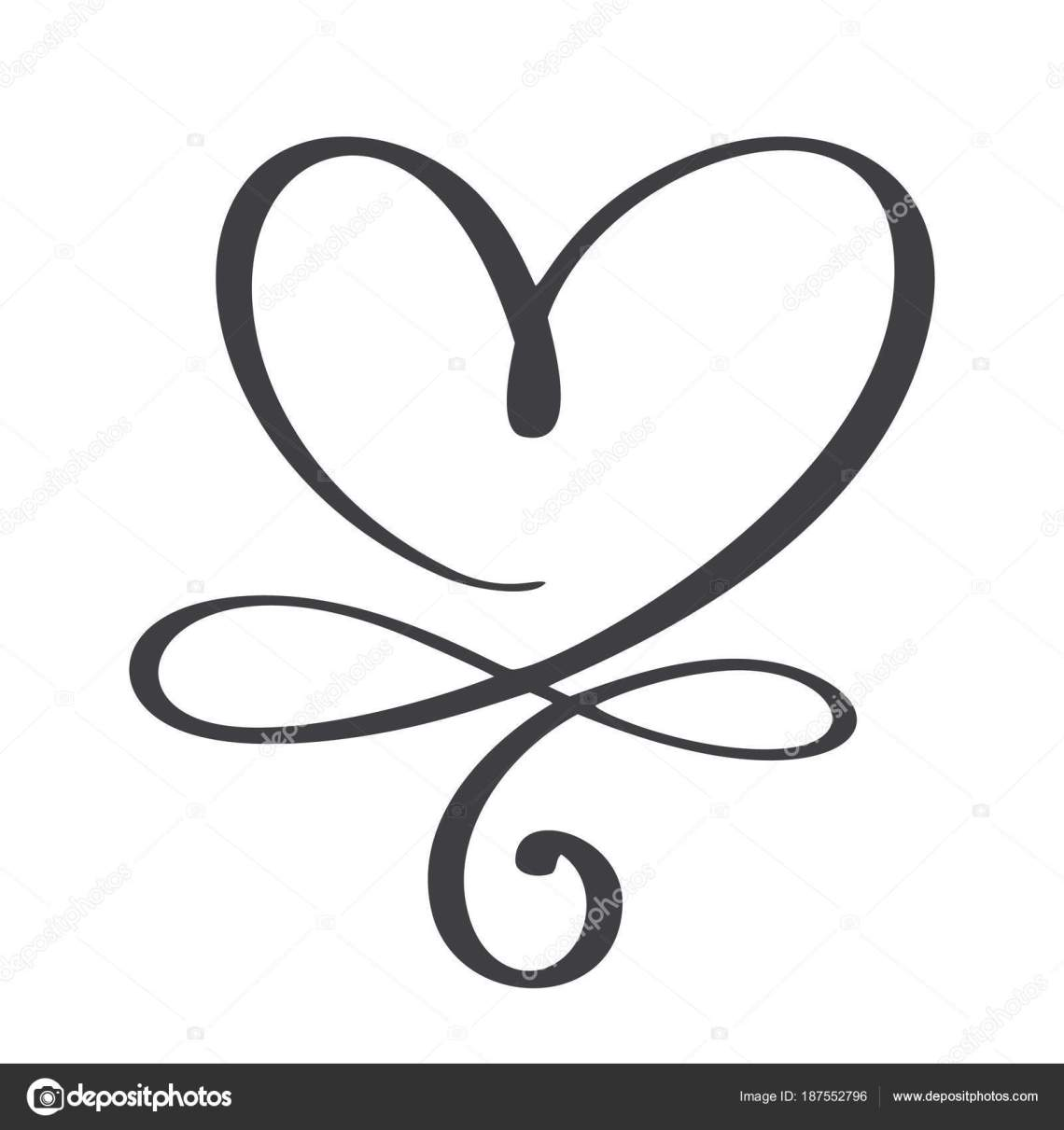 Download Heart love sign forever. Infinity Romantic symbol linked ...