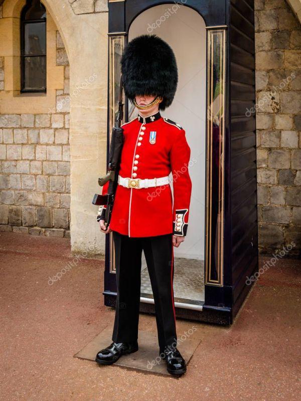 Лондон Англия Мая 2016 Британской Королевской Гвардии ...