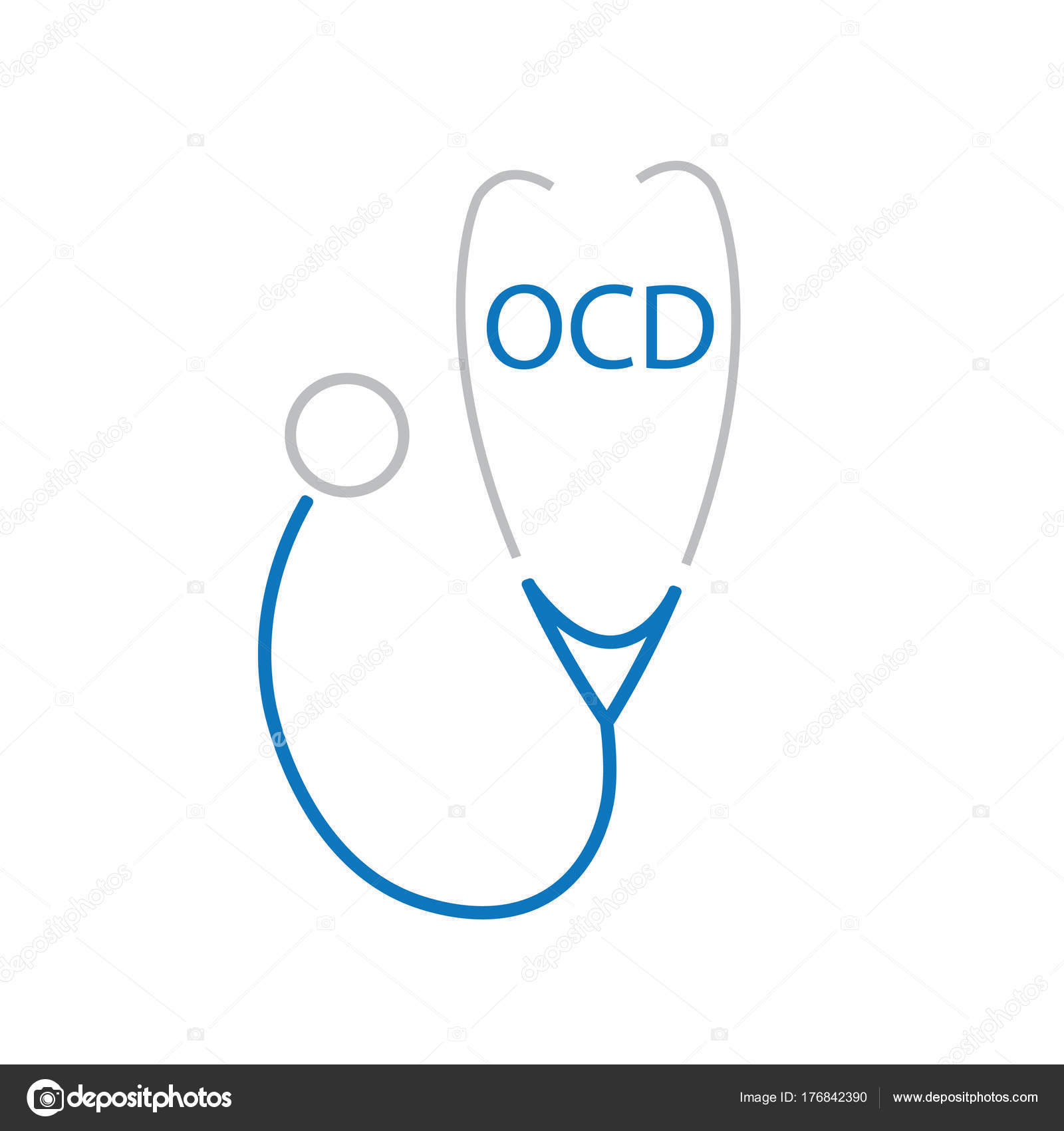 Ocd Obsessive Compulsive Disorder Acronym And