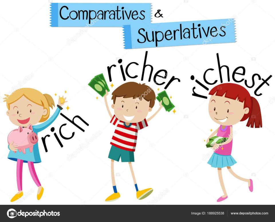 Clipart: english grammar | English grammar for comparatives and ...