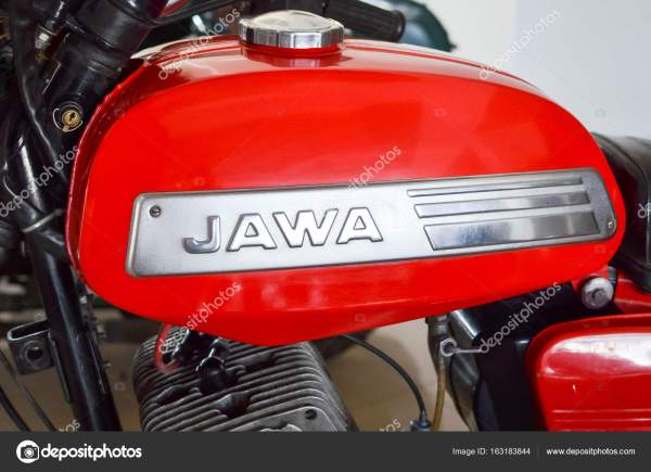 Топливный бак с логотипом старое ретро мотоцикла Jawa ...
