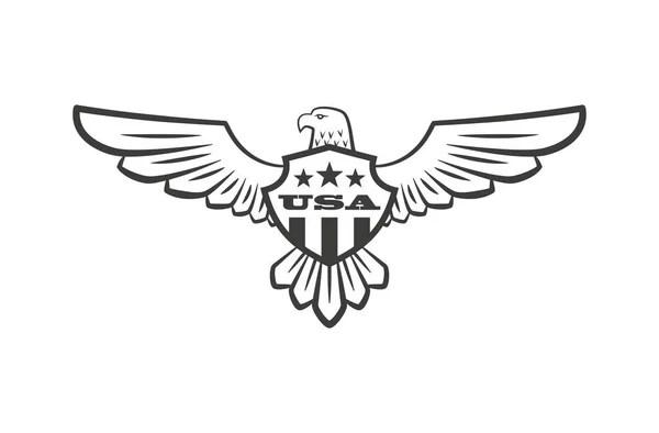 Сова Логотип Векторные Иллюстрации Эмблема Дизайн Белом ...