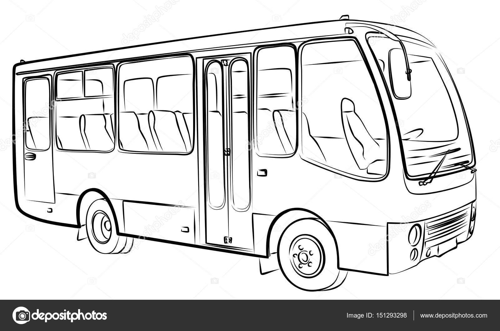 Desenho De Onibus