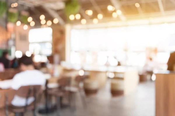 Интерьер ресторана Blur для фона — Стоковое фото ...