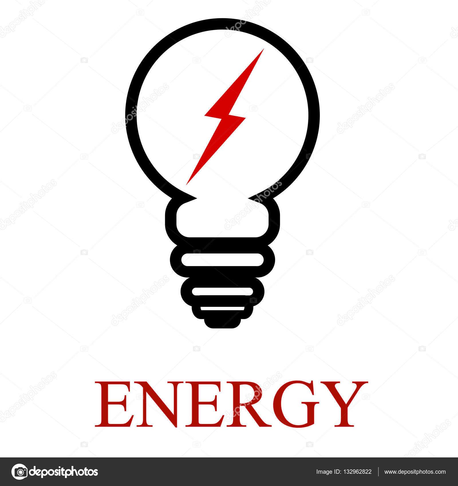 Icone D Ampoule De Contour Modele De Logo D Entreprise