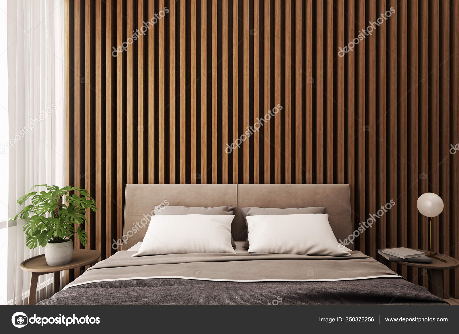 https depositphotos com 350373256 stock photo bedroom interior bed side table html