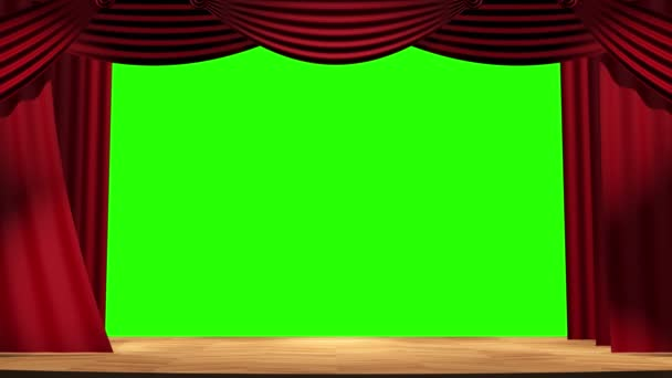 screensaver theatrical transition between frames on a green background alpha channel green screen